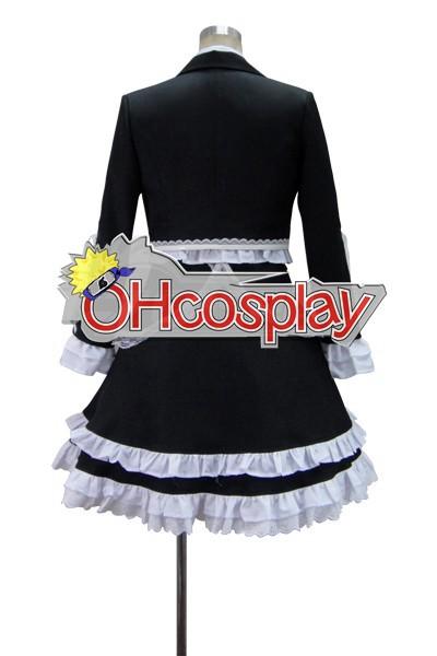 Dangan Ronpa Fastelavn Kostumer Celestia Ludenberg Dress udklædning Fastelavn Kostumer