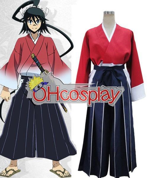 MushiBugyou Jinbei Tsukishima Cosplay Kostuums