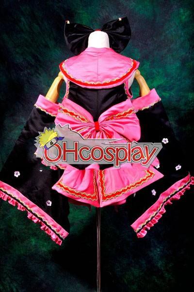 Ruler Vocaloid Miku Sakura Kimono Lolita udklædning Fastelavn Kostumer