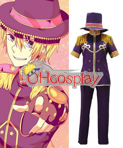 Uta no Prince-sama Cosplay Kurusu Sho Singing Cosplay Costume