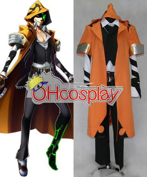 BlazBlue костюми Chrono Phantasma Terumi Юки Cosplay костюми