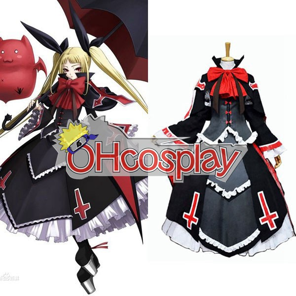Blazblue Fastelavn Kostumer Alter Memory Rachel Alucard Lolita Dress udklædning Fastelavn Kostumer