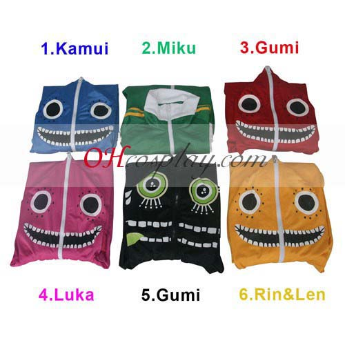 Vocaloid Matryoshka Costume Carnaval Cosplay Gloves