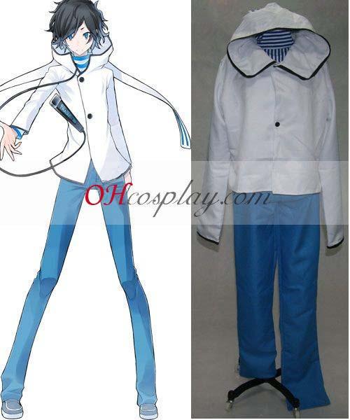 Devil Survivor Hibiki Kuze косплей костюм