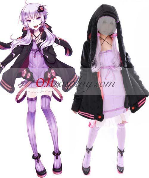 Vocaloid 3 Yuzuki Yukari Cosplay Shirt & аксесоари