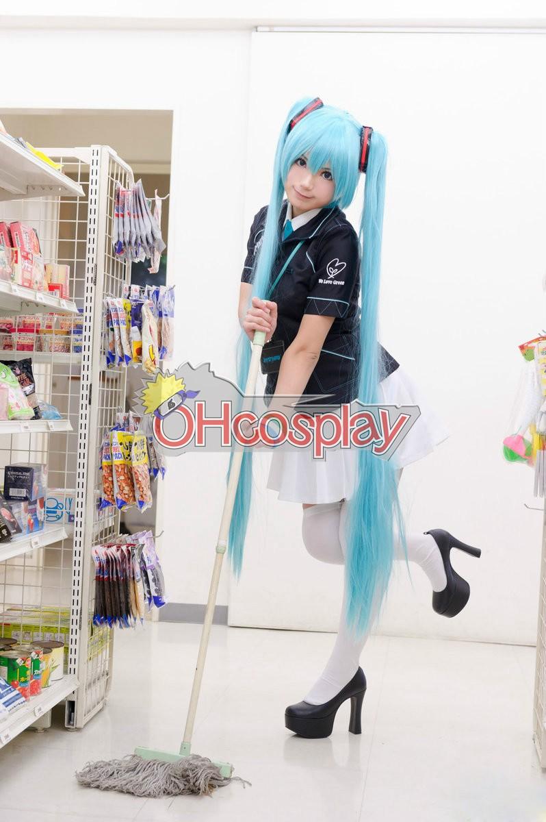 Vocaloid Family Mart Miku Cosplay костюми
