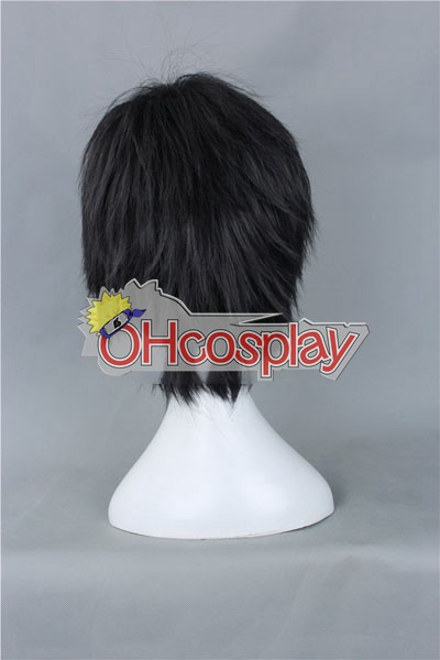 Free! Haruka Nanase Black udklædning Wig-159B