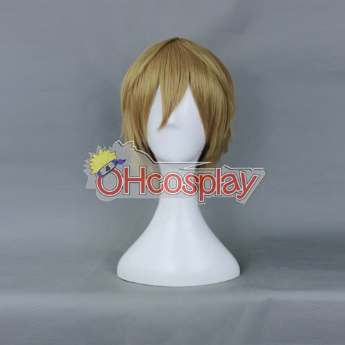 Kostenlos! Makoto Tachibana Flaxen Cosplay Kostüme Wig-188 j