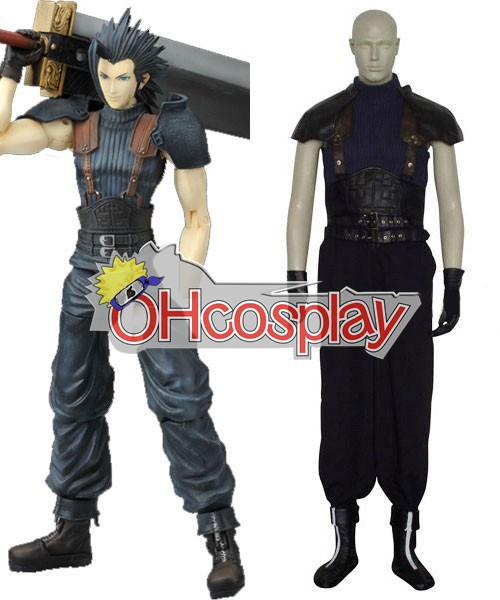 Final Fantasy Kostymer VII Zack Fair Cosplay Kostymer