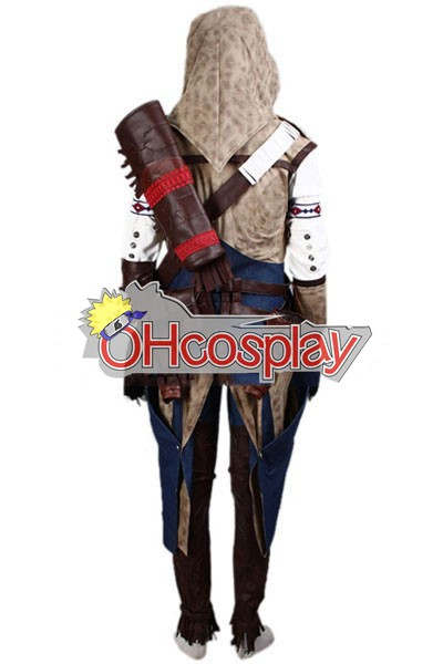Assassins Creed Costume Iii Connor Render Cosplay Costume Deluxe