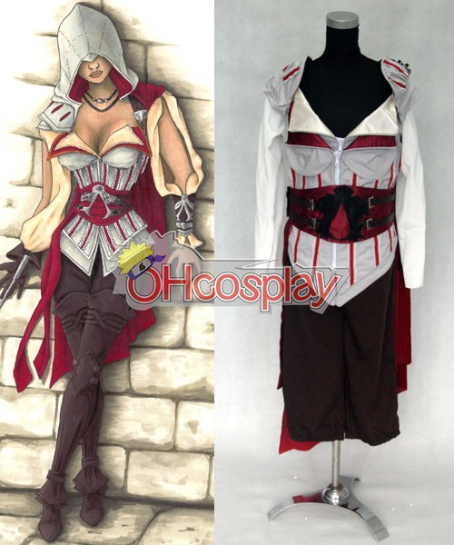 Traje Cosplay Disfraces Assassins Creed Comisión