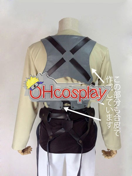 Attack on Titan Costumes (Shingeki no Kyojin) Eren Jaeger Survey Crops Cosplay Costume
