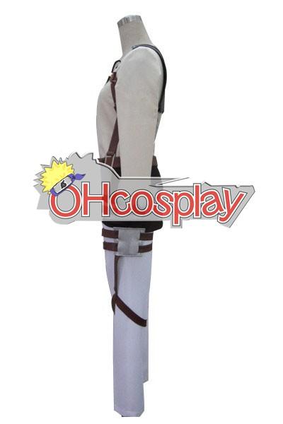 Атака на Титан костюми Ерен Survey Корпуса Uniform Cosplay костюми - VersionA