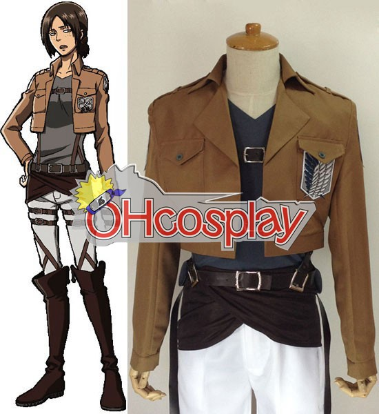 Attack on Titan Costume (Shingeki no Kyojin) Yumil Survey Crops Cosplay Costume