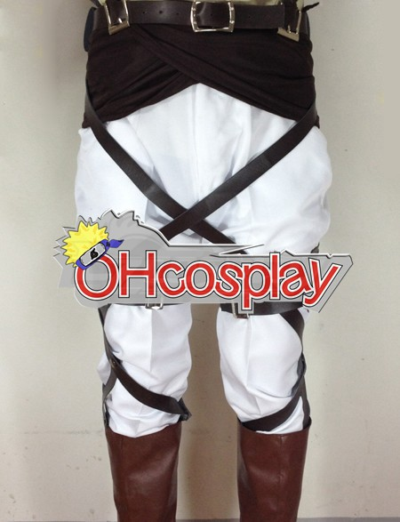 Attack on Titan Fastelavn Kostumer (Shingeki no Kyojin) Elvin Smith Survey Crops udklædning Fastelavn Kostumer