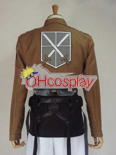 Attack on Titan Costumes (Shingeki no Kyojin) Eren Jaeger Training Crops Cosplay Costume