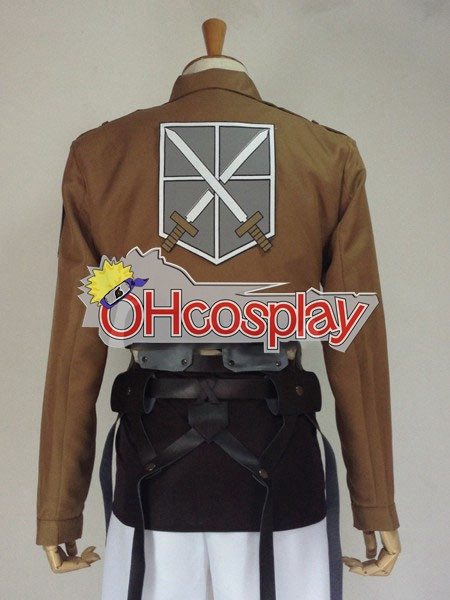 Attack on Titan Fastelavn Kostumer (Shingeki no Kyojin) Jean Kirstein Training Crops udklædning Fastelavn Kostumer