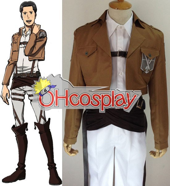 Attack on Titan Cosplay (Shingeki no Kyojin) Marco Bott Training Crops Cosplay Costume