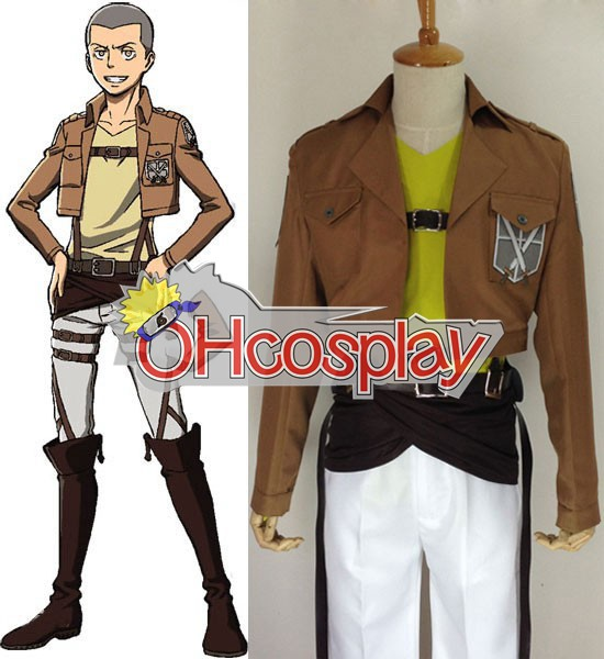 Attack on Titan Costumes (Shingeki no Kyojin) Connie Springer Training Crops Cosplay Costume