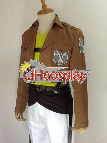 Attack on Titan Fastelavn Kostumer (Shingeki no Kyojin) Connie Springer Training Crops udklædning Fastelavn Kostumer