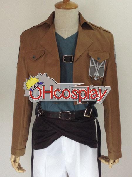 Attack on Titan Fastelavn Kostumer (Shingeki no Kyojin) Bertolt Huber Training Crops udklædning Fastelavn Kostumer