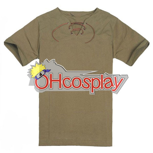 Attack on Titan Costumes Eren Short Shirt Cosplay Costume