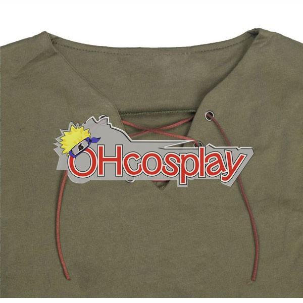 Атака на Титан костюми Ерен Short Shirt Cosplay костюми