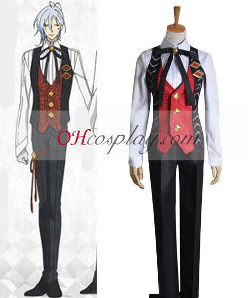 Amnesia Costume Ikki Working Uniform Cosplay Costume
