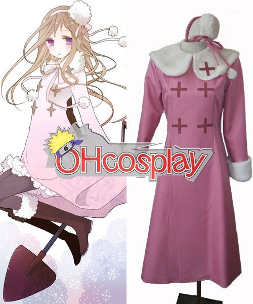 Hetalia Female Russia Pink Cosplay Costume