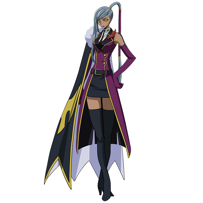 Code Geass Cosplay Villetta Nu Cosplay Costume
