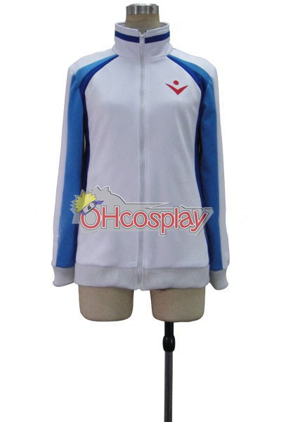 Ruler Vocaloid-Kaito Brake Yuet Wah Computer Embroidery Cosplay Jelmez