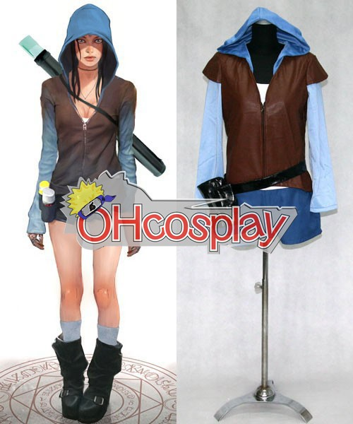 Devil May Cry Kostymer 5 Kat Render Cosplay Kostymer