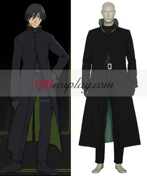 Déguisement Darker than Black Laugh Mask & Sword Costume Carnaval Cosplay Set (Deluxe Edition)