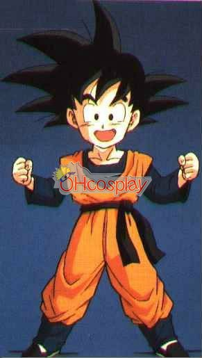 Dragon Ball Goten Pratising Clothing Cosplay Costume