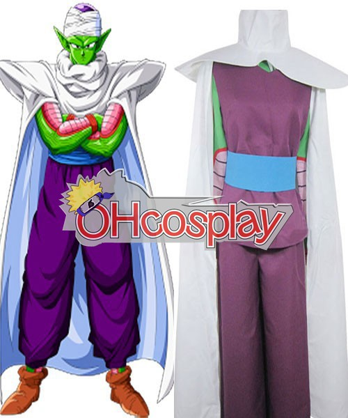 Dragon Ball Piccolo Familiar IMP Uniform Cloth Combined Leather Kostymer