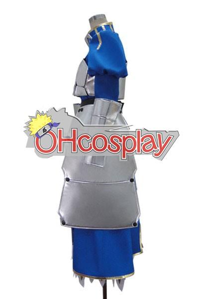 Fate Zero Saber Armor Cosplay Costume Deluxe Version