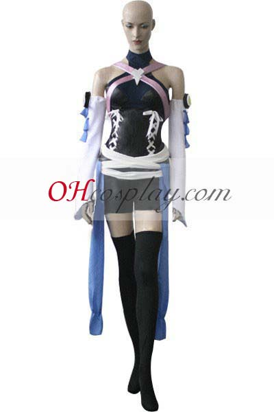 Kingdom Hearts Costumes Birth By Sleep Aqua Cosplay Costume(Only Sleeves, Apron and Belt)