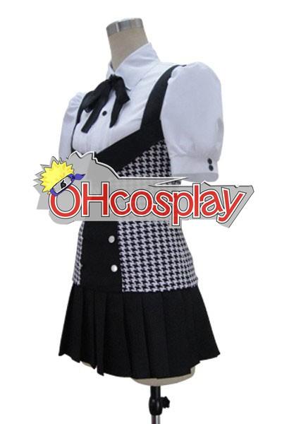 Inu х Boku SS Ririchiyo Shirakiin Plaid Пола Cosplay костюми