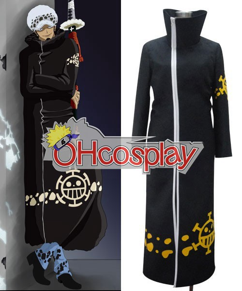 One Piece Κοστούμια Trafalgar Law After 2Y Cosplay Κοστούμια
