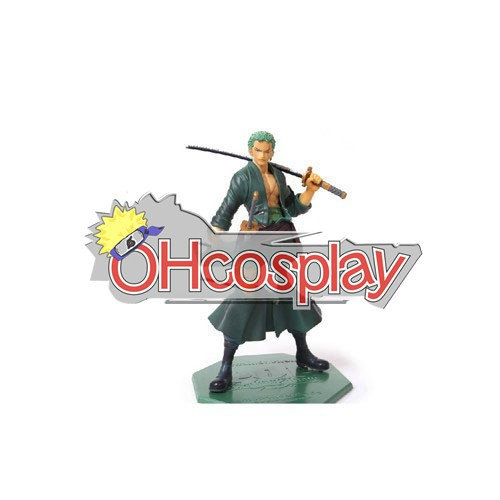 One Piece Costumes Zoro After 2Y Hand-done model doll Anime Toys