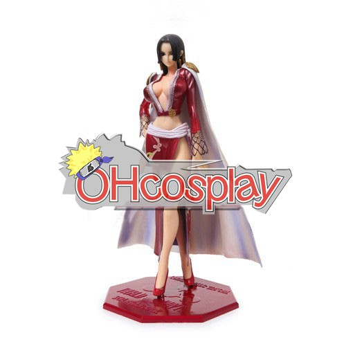 One Piece Costumes The Empress Boa Cheongsam Hancock Figure Display Toy Gift