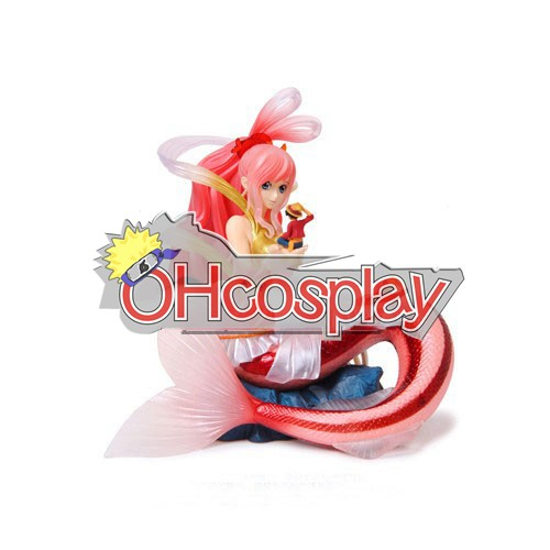 One Piece Cosplay Mermaid Princess Hand-done Model Doll Anime Toys