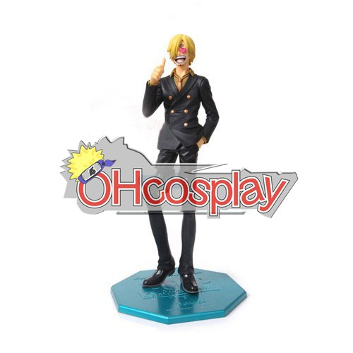One Piece Costumes Sanji After 2Y Hand-done Model Doll Anime Toys