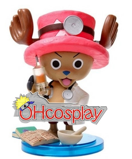 One Piece Costume Doctor Chopper Hand-done Model Doll Anime Toys