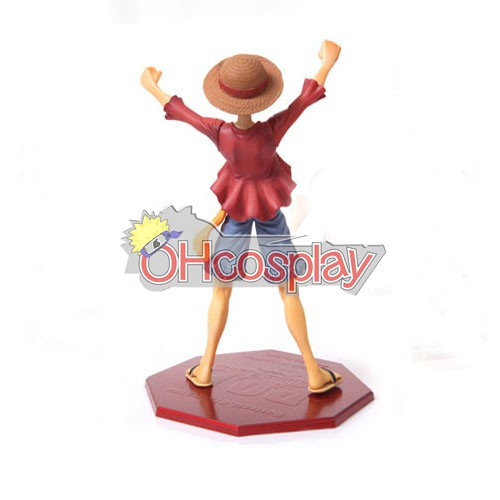 Едно парче Luffy костюми Ръчно направени Модел кукла Аниме Toys