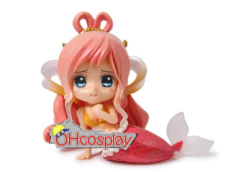 One Piece Costumes Cute Mermaid Princess Garage Kit Model Doll Anime Toys