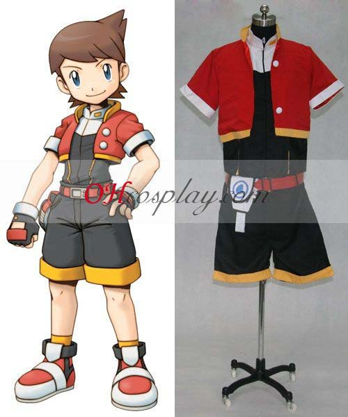 Déguisement Pokemon Ash Ketchum Red Jacket Deguisements Costume Carnaval Cosplay