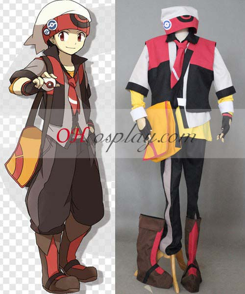 Costumi Carnevale Pokemon Ruby Cosplay Costume