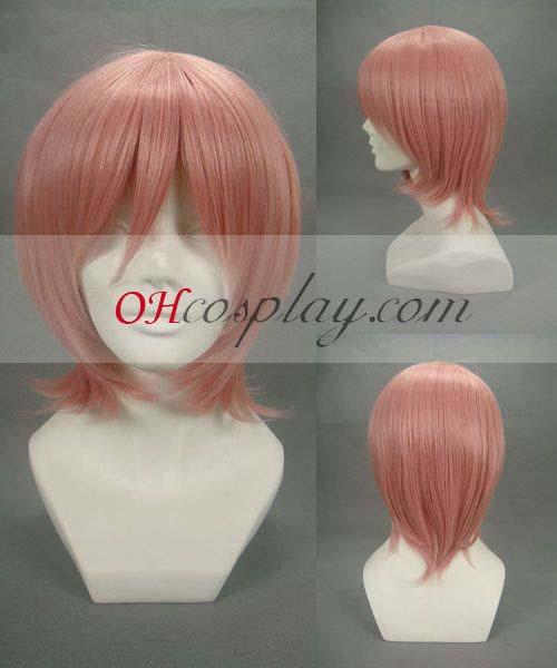 Puella Magi Karneval Kläder kaname madoka Pink Cosplay Wig-208A