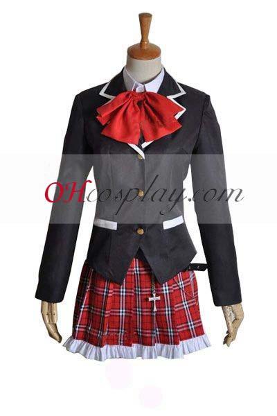 Chunibyo Fastelavn Kostumer Shitai Rikka Takanashi udklædning Fastelavn Kostumer